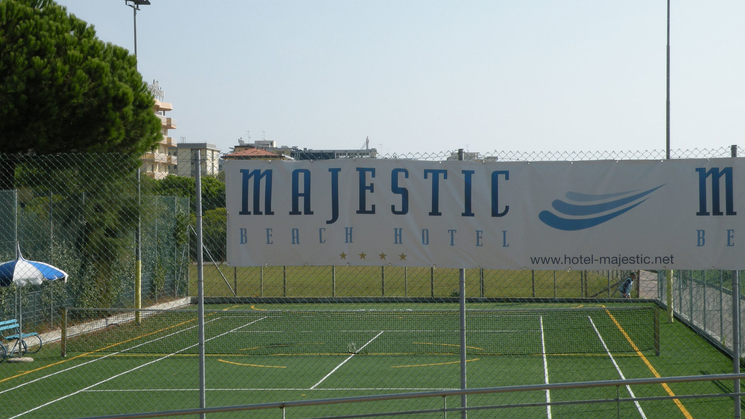 TENNIS FACILITIES OF THE HOTEL MAJESTIC, BIBIONE SPIAGGIA